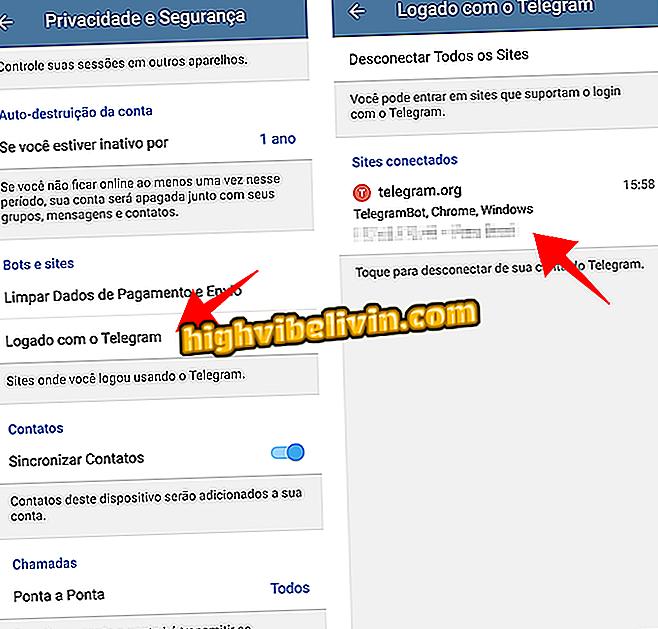 Prijavite se na web-lokacije s računom za Telegram