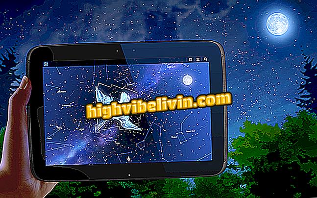 Mobilna aplikacija prikazuje planete in zvezde na nebu;  poglejte, kako uporabljati